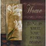 Beautifully Painted Words To Live By Painting by Yosemite Home Decor