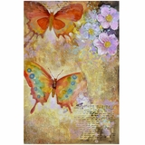 Beautifully Styled Butterfly Garden I Classy Painting by Yosemite Home Decor