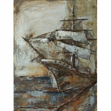 Beautifully Styled Castaway Ship II Classy Painting by Yosemite Home Decor