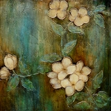 Beautifully Styled Dogwood Dream II Classy Painting by Yosemite Home Decor