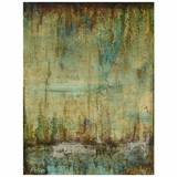 Beautifully Styled Emerald Tranquility II Painting by Yosemite Home Decor