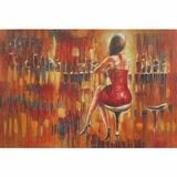 Beautifully Styled Evening Out II Attractive Painting by Yosemite Home Decor