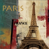 Beautifully Styled Painted Les Paris Painting by Yosemite Home Decor