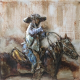 Beautifully Styled Rodeo Classy Painting by Yosemite Home Decor