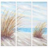 Beautifully Styled Shore Grass Classy Painting by Yosemite Home Decor
