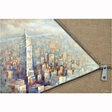 Beautifully Styled Unzip The City II Painting by Yosemite Home Decor