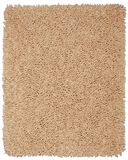 Beige Silky Shag 4' x 6' Brand Anji Mountain by Anji Mountain