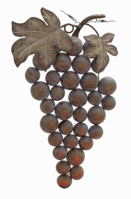 Belgium Beauteous Grape Wall Decor Brand Benzara