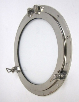 Belgium Porthole Antiqued Window Brilliant Nautical D�cor Brand IOTC