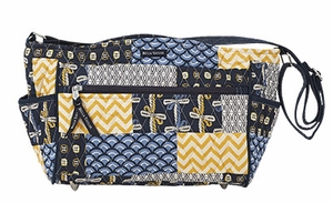 Bella Taylor Cross Body Shoulder Bag with Patch Work Design American Charm Brand Bella Taylor