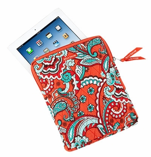 Bella Taylor Floral Printed Tablet Case with Quilted Pattern Bali Bright Brand Bella Taylor