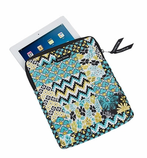 Bella Taylor Patch Work Design Tablet Case with Zipper Closure Lemon Julep Brand Bella Taylor