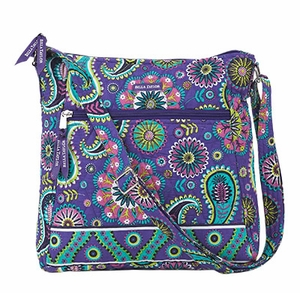 Bella Taylor Printed Cross Body Sling Bag with Adjustable Strap Paisley Punch Brand Bella Taylor