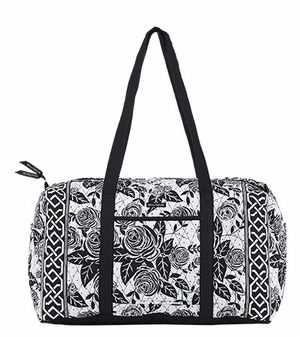 Bella Taylor Rose Print Handbag with Double Shoulder Strap Rose Pop Brand Bella Taylor