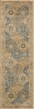 "BELMOBE-01BLU-BELMONT COLLECTION 2'-3"" x 7'-6"" Runner by Momani Rugs"