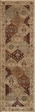 "BELMOBE-01BUR-BELMONT COLLECTION 2'-3"" x 7'-6"" Runner by Momani Rugs"