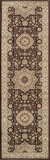 """BELMOBE-03BRN-BELMONT COLLECTION 2'-3"""" x 7'-6"""" Runner by Momani Rugs"""