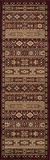 """BELMOBE-04RED-BELMONT COLLECTION 2'-3"""" x 7'-6"""" Runner by Momani Rugs"""