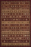 "BELMOBE-04RED-BELMONT COLLECTION 3'-11"" x 5'-7"" by Momani Rugs"