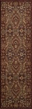 "BELMOBE-05RED-BELMONT COLLECTION 2'-3"" x 7'-6"" Runner by Momani Rugs"