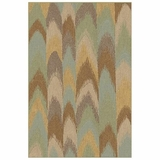 "BELMOBE-08GRN-BELMONT COLLECTION 3'-11"" x 5'-7"" by Momani Rugs"