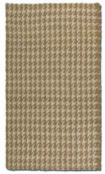 "Bengal Natural 16"" Hand Woven Rug in Natural and Cream Jute Brand Uttermost"