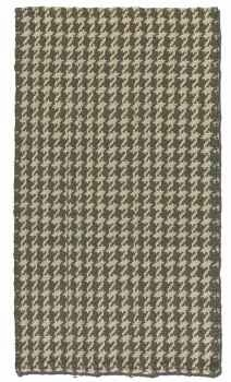 Bengal Olive Grey 5' Hand Woven Rug in Olive Grey and Cream Jute Brand Uttermost