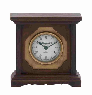 Bergamo Ornamental Well-Calibrated Table Clock Brand Benzara