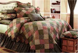 Berkshire Quilt, King Size, 110 Inch X 97 Inch Brand VHC