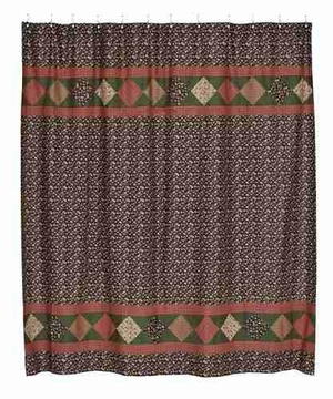 Berkshire Shower Curtain, 72 Inch X72 Inch Brand VHC