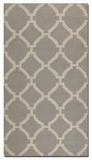 Bermuda Grey 5' Woven Woolen Rug with Natural Striations Brand Uttermost