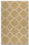 """Bermuda Wheat 16"""" Woven Wool Rug with Natural Striations Brand Uttermost"""