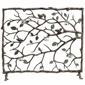 Bird & Branch Fire Screen Coordinates To Any Interior Decoration Brand SPI-HOME