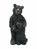 Black Bear with Baby Black Bear Garden Statue by Alpine Corp