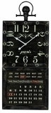 Black Finish Attractive Styled Gordon Clock by Cooper Classics