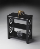 "Black Licorice Bookcase 22""W by Butler Specialty"