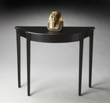 "Black Licorice Console Table 36""W by Butler Specialty"