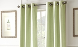 Black Out Curtains in Sage Color Pack of Two