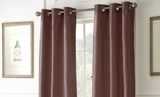 Black Out Curtains Pack of Two in Ruby Shade