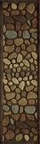 """BLISSBS-04MTI-BLISS COLLECTION 2'-3"""" x 8'-0"""" Runner by Momani Rugs"""