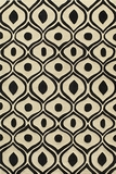 """BLISSBS-09BLK-BLISS COLLECTION 3'-6"""" x 5'-6"""" by Momani Rugs"""