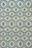 """BLISSBS-09BLU-BLISS COLLECTION 2'-3"""" x 8'-0"""" Runner by Momani Rugs"""