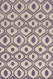 """BLISSBS-09PUR-BLISS COLLECTION 2'-3"""" x 8'-0"""" Runner by Momani Rugs"""