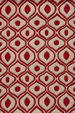 """BLISSBS-09RED-BLISS COLLECTION 3'-6"""" x 5'-6"""" by Momani Rugs"""