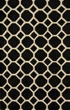 "BLISSBS-11BLK-BLISS COLLECTION 3'-6"" x 5'-6"" by Momani Rugs"