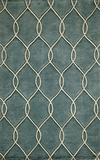 """BLISSBS-12TEL-BLISS COLLECTION 2'-3"""" x 8'-0"""" Runner by Momani Rugs"""