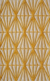 """BLISSBS-13GLD-BLISS COLLECTION 2'-3"""" x 8'-0"""" Runner by Momani Rugs"""