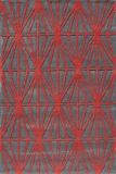 """BLISSBS-13RED-BLISS COLLECTION 2'-3"""" x 8'-0"""" Runner by Momani Rugs"""