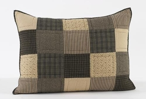 Block Patterned Exclusive Kettle Grove Luxury Sham by VHC Brands