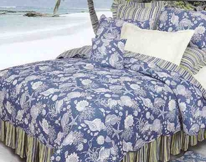 Blue Shells Nautical Handmade Quilts Luxury Ca Queen Brand C&F